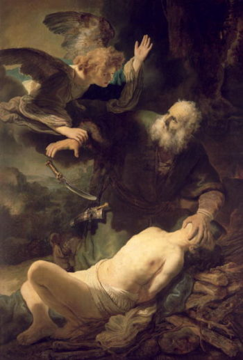 The Sacrifice of Abraham 1635 | Rembrandt Harmensz van Rijn | oil painting