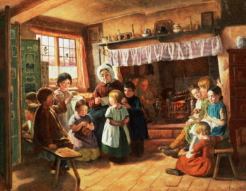 The School Room | Alfred Rankley | oil painting