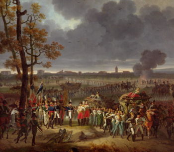 The Second Siege of Mantua on the 2nd February 1797 1812 | Hippolyte Lecomte | oil painting