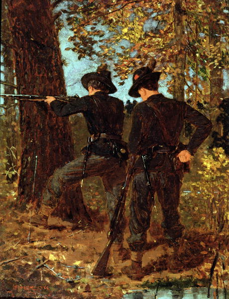 The Sharpshooters | Winslow Homer | oil painting