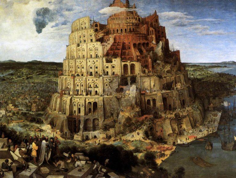 The Tower of Babel 1563 | Pieter The Elder Bruegel | oil painting