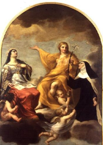 The Three Marys 1633 | Andrea Sacch | oil painting