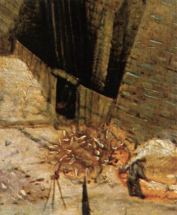 The Tower of Babel (detail) 1563 | Pieter The Elder Bruegel | oil painting