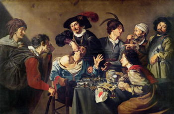 The Tooth Extractor | Theodor Rombouts | oil painting
