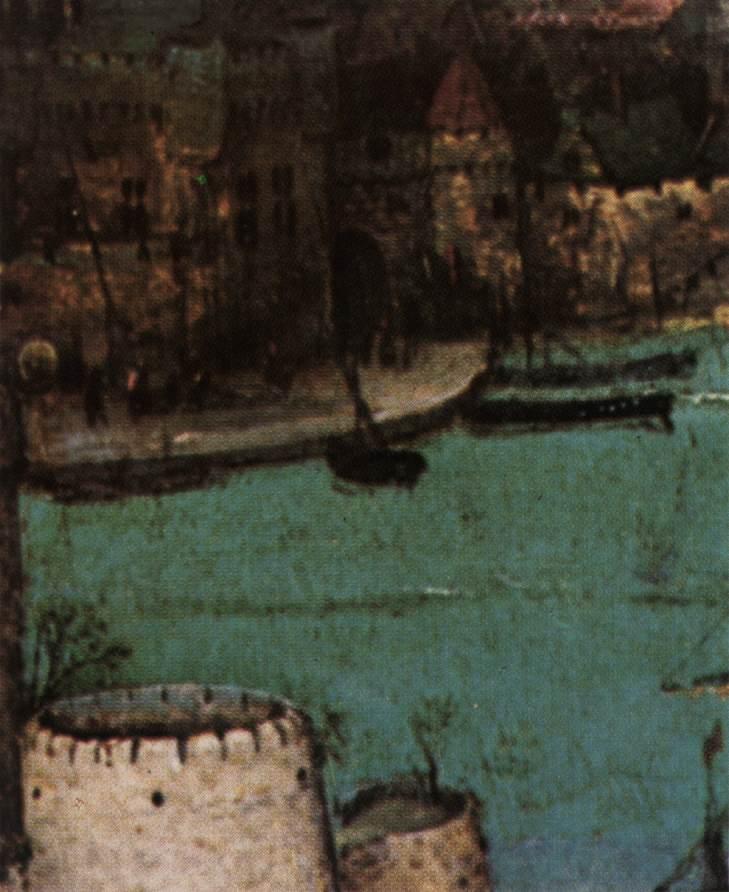 The Tower of Babel (detail) 1563   Pieter The Elder Bruegel   oil painting