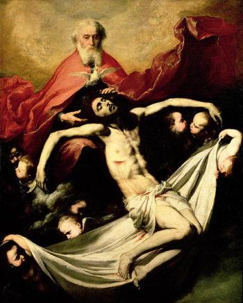 The Trinity 1635 | Jusepe de Ribera | oil painting