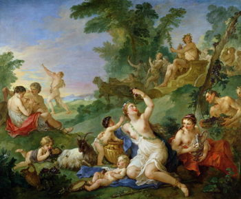 The Triumph of Bacchus | Charles Joseph Natoire | oil painting