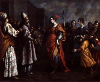 The Triumph of Judith 1620 30 | Francesco Currad | oil painting