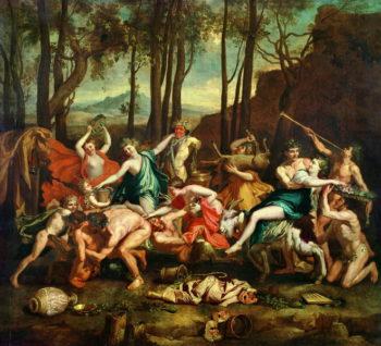 The Triumph of Pan   Nicolas Poussin   oil painting