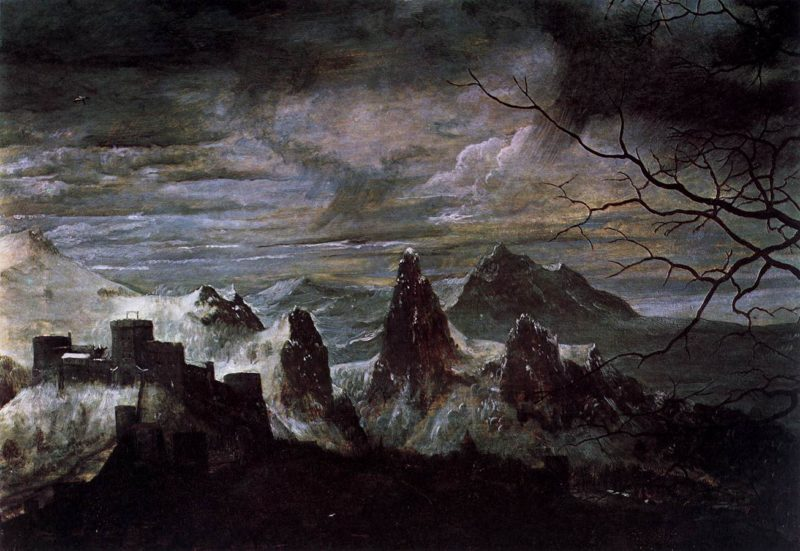 Gloomy Day (detail) 1565 | Pieter The Elder Bruegel | oil painting