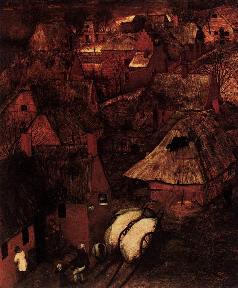 Gloomy Day (detail) 1565   Pieter The Elder Bruegel   oil painting