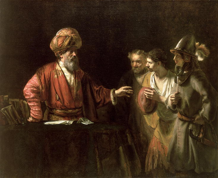 The Unmerciful Servant | Willem Drost | oil painting