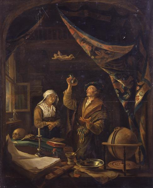 The Urine Doctor | Gerrit or Gerard Dou | oil painting