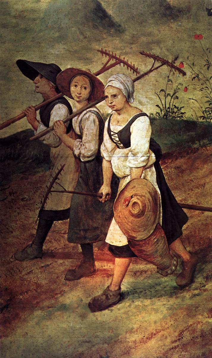 Haymaking (detail) 1565   Pieter The Elder Bruegel   oil painting