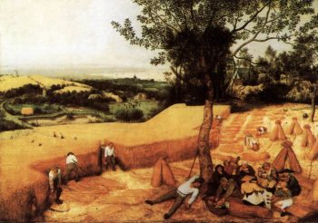 The Corn Harvest (August) 1565 | Pieter The Elder Bruegel | oil painting