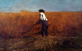 The Veteran in a New Field | Winslow Homer | oil painting