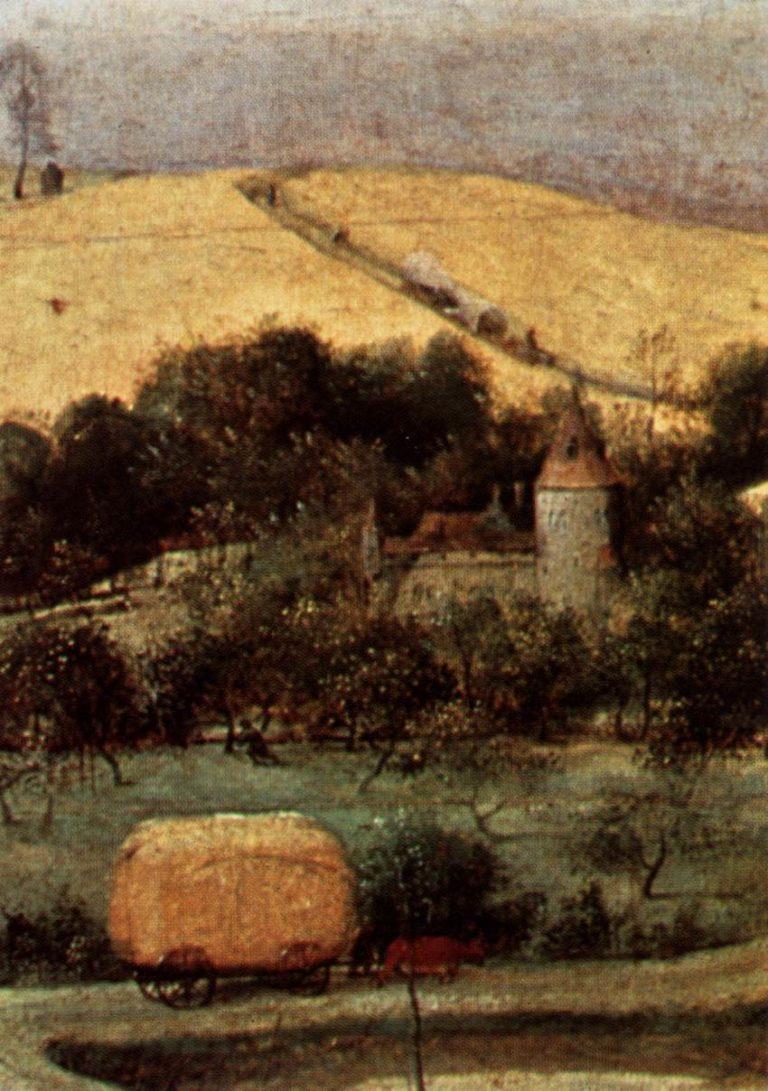 The Corn Harvest (detail) 1565 | Pieter The Elder Bruegel | oil painting