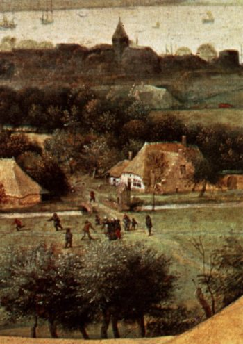The Corn Harvest (detail) 1565 | Pieter The Elder Bruegel | oil painting