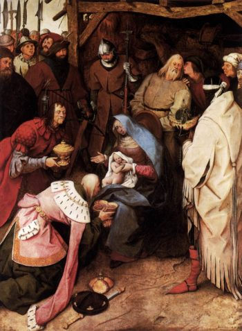 The Adoration of the Kings 1564 | Pieter The Elder Bruegel | oil painting