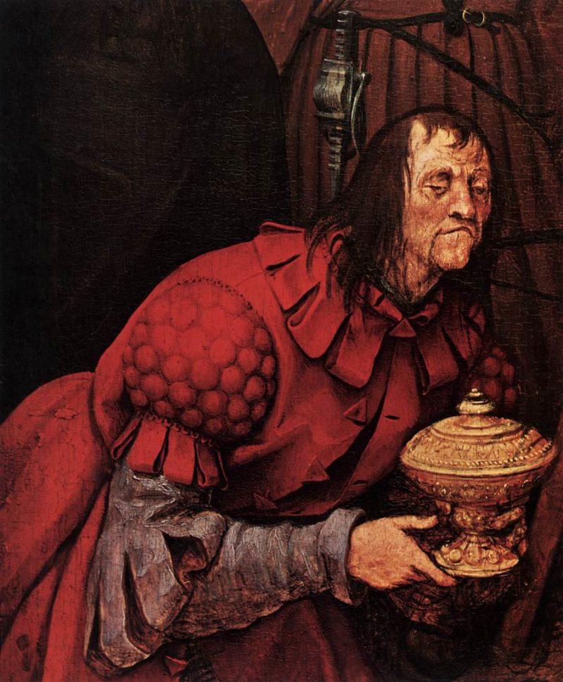 The Adoration of the Kings (detail) 1564   Pieter The Elder Bruegel   oil painting