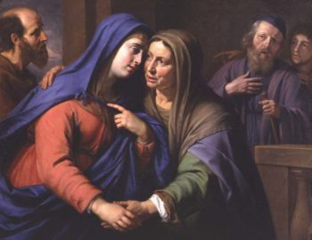 The Visitation | Philippe de Champaigne | oil painting