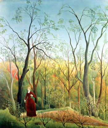 The Walk in the Forest 1886 90 | Henri Rousseau | oil painting