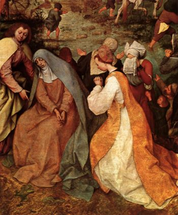 Christ Carrying the Cross (detail) 1564 | Pieter The Elder Bruegel | oil painting