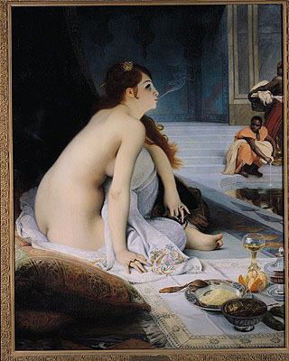 The White Slave 1888   Jean Jules Antoine Lecomte du Nouy   oil painting