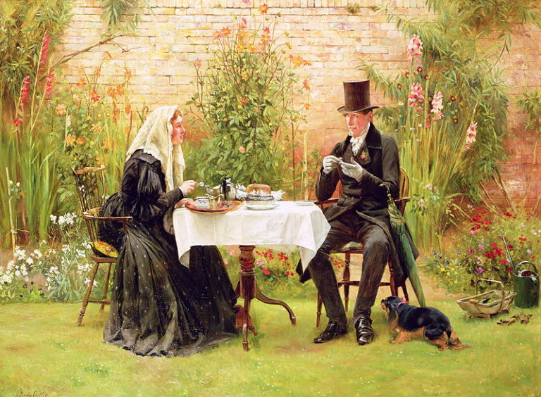 The Widow at Home | Walter Dendy Sadler | oil painting