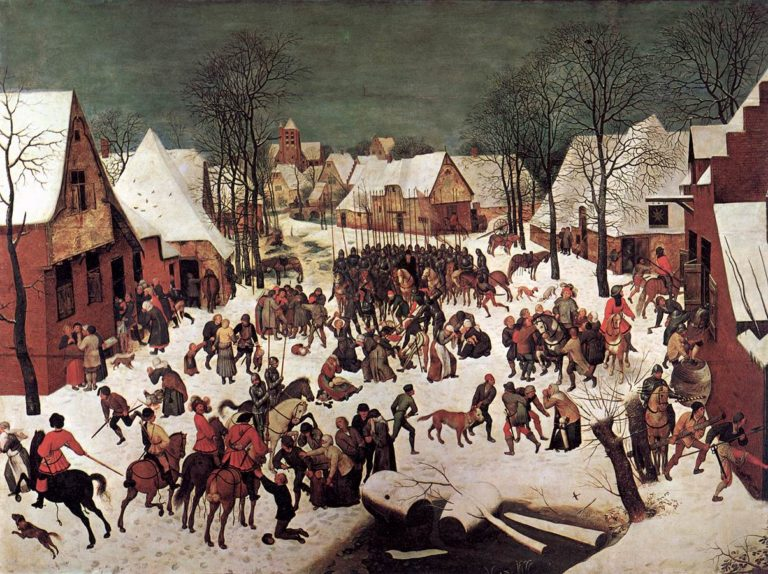 The Massacre of the Innocents 1565-67 | Pieter The Elder Bruegel | oil painting