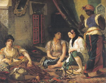 The Women of Algiers in their Apartment 1834 | Eugene Delacroix | oil painting