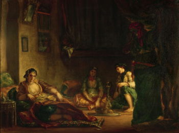 The Women of Algiers in their Harem 1847 49 | Eugene Delacroix | oil painting