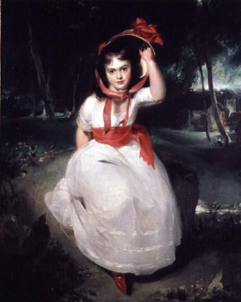 The Woodland Maid | Sir Thomas Lawrence | oil painting