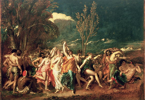 The World Before the Flood | William Etty | oil painting