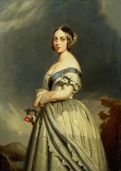 The Young Queen Victoria | Franz Xavier Winterhalter | oil painting