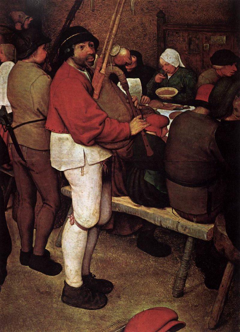 Peasant Wedding (detail) 1567   Pieter The Elder Bruegel   oil painting