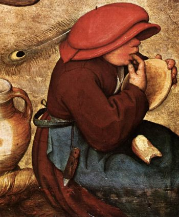 Peasant Wedding (detail) 1567 | Pieter The Elder Bruegel | oil painting