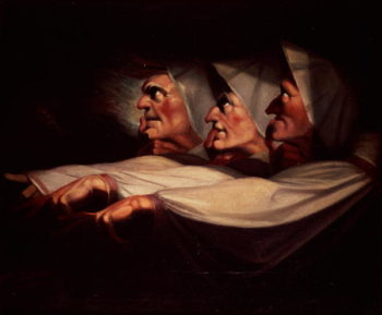 Three Witches | Henry Fuseli | oil painting