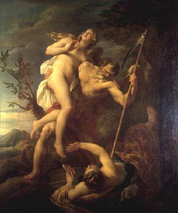 Time Saving Truth from Falsehood and Envy 1737 | Francois Lemoyne | oil painting
