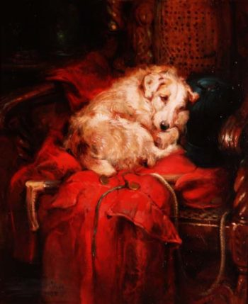 Tired Out | Philip Eustace Stretton | oil painting