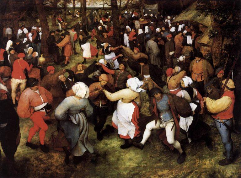 Wedding Dance in the Open Air 1566 | Pieter The Elder Bruegel | oil painting