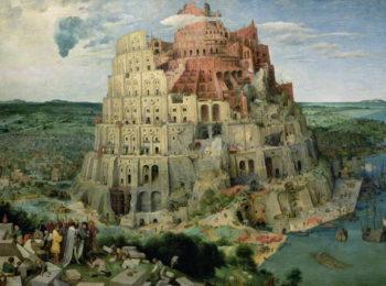 Tower of Babel 1563 | Pieter the Elder Brueghel | oil painting