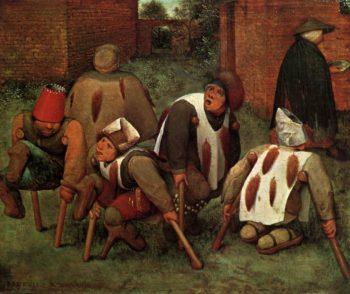 The Cripples 1568 | Pieter The Elder Bruegel | oil painting