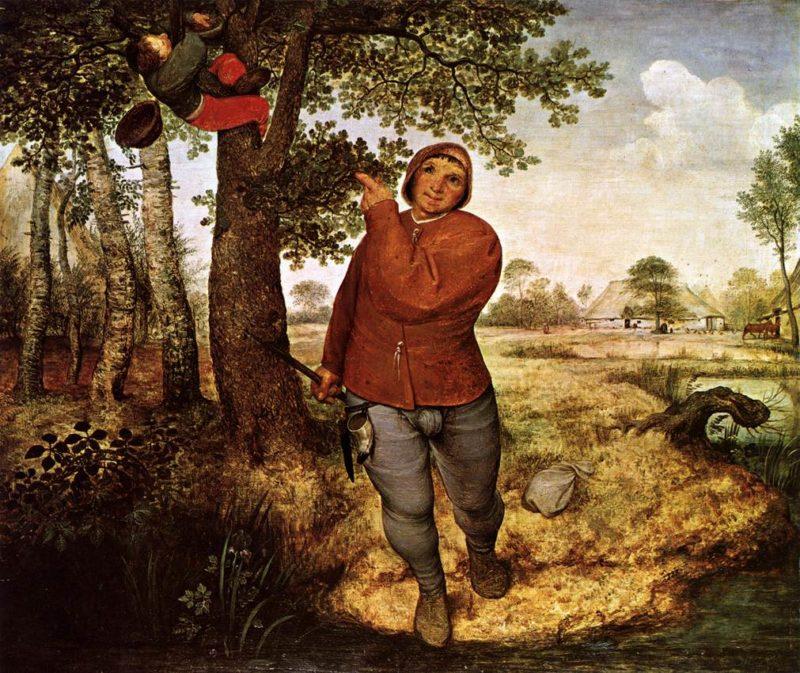 The Peasant and the Birdnester 1568 | Pieter The Elder Bruegel | oil painting