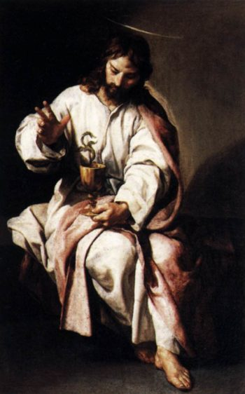 St John the Evangelist 1636 | Alonso Cano | oil painting