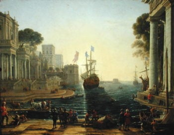 Ulysses Returning Chryseis to her Father | Claude Lorrain | oil painting