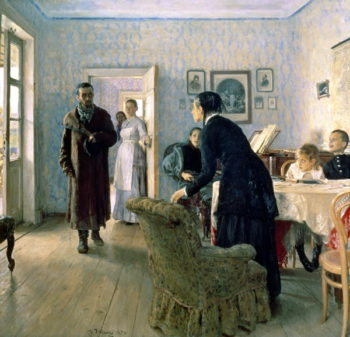 Unexpected 1884 88 | Ilya Efimovich Repin | oil painting