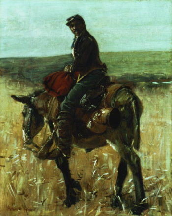 Union Soldier | William Gilbert Gaul | oil painting