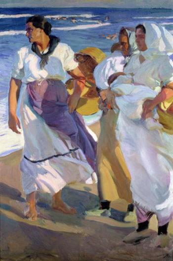 Valencian Fisherwomen 1915 | Joaquin Sorolla y Bastida | oil painting