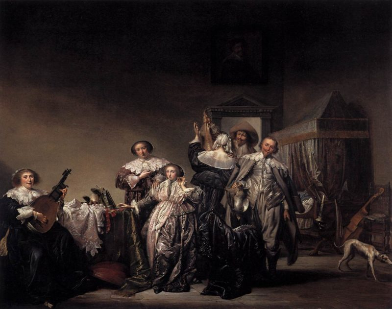 Gallant Company 1633   Pieter Codde   oil painting